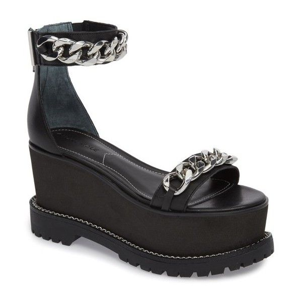 18513ae1bd10 Women s Kendall + Kylie Cass Platform Sandal (455 BRL) ❤ liked on Polyvore  featuring shoes