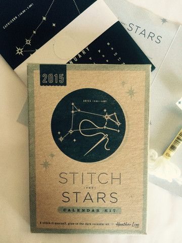 Stitch the Stars Calendar Kit - evolver - Serving the global community of cultural creatives