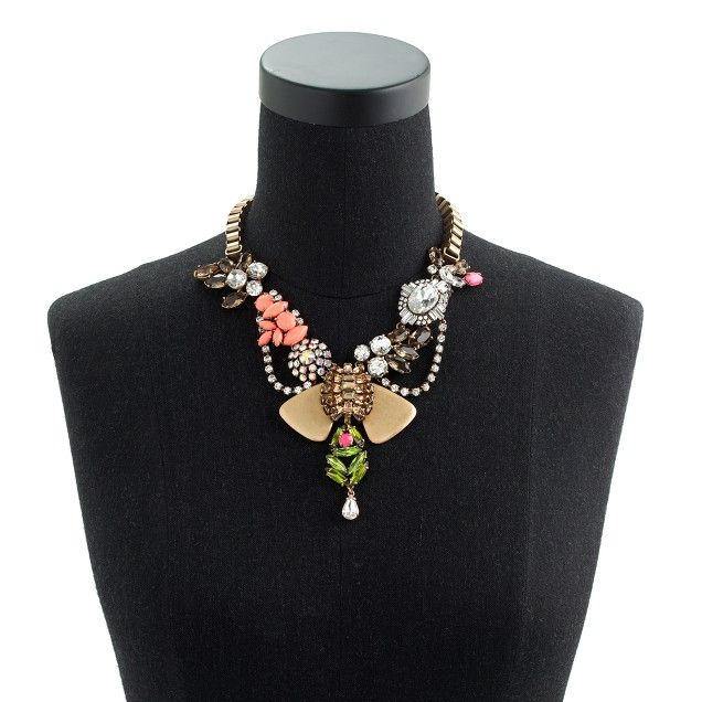 """J.Crew - Crystal mélange necklace 
