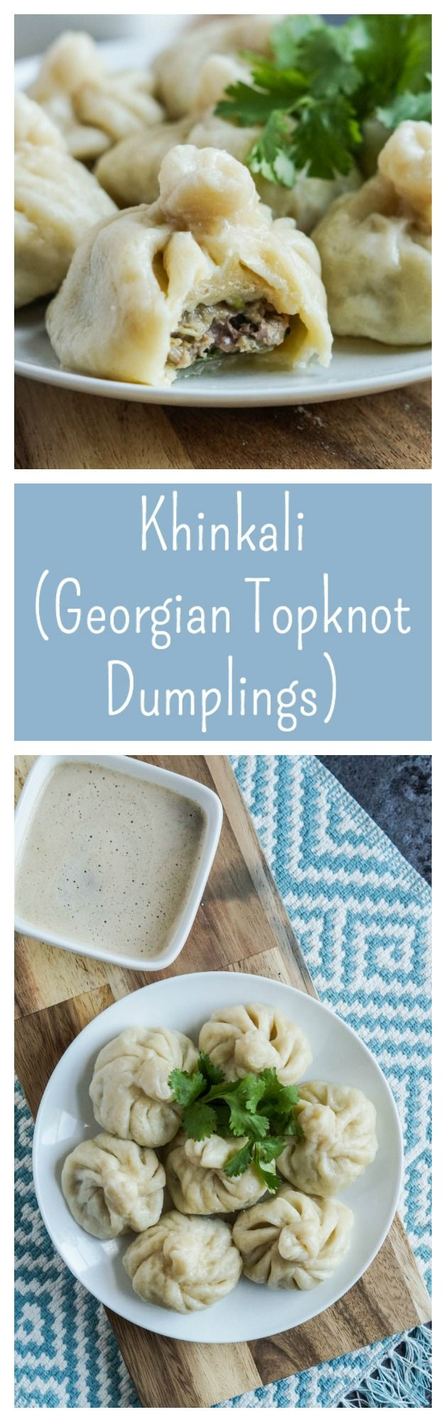 Khinkali (Georgian Topknot Dumplings)