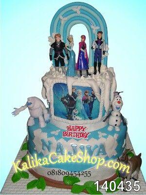 Kue ulang tahun Frozen by KalikaCakeShop.com
