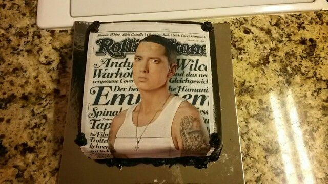 Eminem Birthday Cake