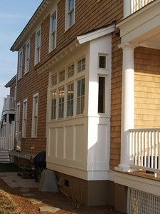 bump outs are common on Craftsman homes