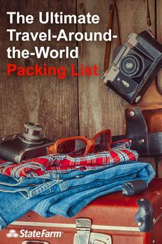 Looking to go on a last-minute vacation but don't know what to bring? Travel with confidence and learn the must-haves for your packing list with the help of State Farm.