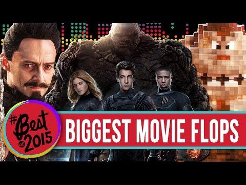 9 Biggest Movie Flops 2015 - YouTube