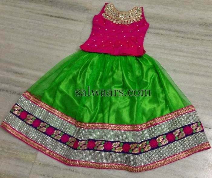 Green Net Lehenga | Indian Dresses
