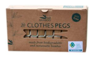 Bamboo Clothes Pegs - Bamboo Village