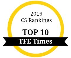 2016 Best Computer Science Program Rankings