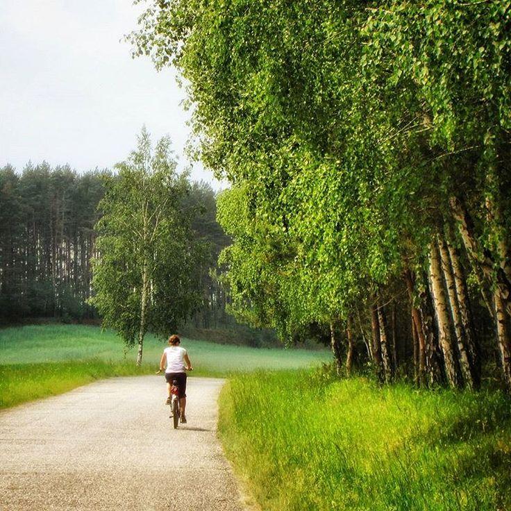 Krajna - Kraina bajkowych lasów i łąk, malowniczych wzniesień... i pustych dróg :-) EN Krajna in Central Poland - A land of fairy-tale forests and meadows, picturesque hills and..... empty roads :-)