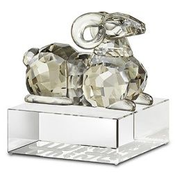 Swarovski Zodiac Sheep  Sheep – the Chinese Zodiac animal representing those born in 1955, 1967, 1979, 1991 and 2003. The Chinese zodiac contains twelve animals, one for each year in a twelve-year cycle, and each representing the qualities believed to characterize people born in its year.