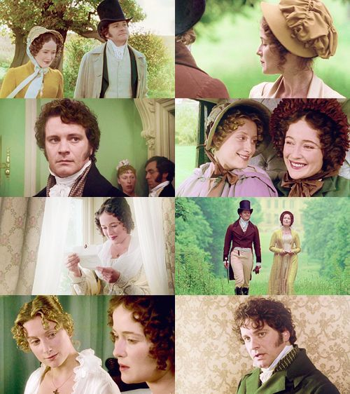 """Pride and Prejudice (1995) """"In vain have I struggled, it will not do. You must allow me to tell you how ardently I admire and love you."""""""