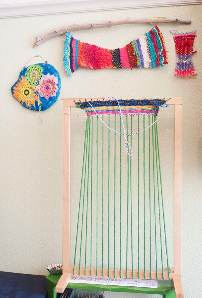 DIY Weaving With Kids - Smart Creative Work Spaces