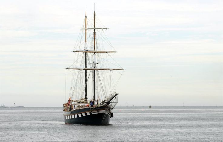 (From 2009) July 16th: Fair Jeanne began her life in the backyard of the Thomas G. Fuller, D.S.C.** M.I.D. R.C.N. She was designed and built by Capt. Fuller at his home in Britannia-on-the-Bay in Ottawa, Ontario. The keel was laid in 1978 and she was launched in 1980. Fair Jeanne was sailed by Capt. Fuller and his wife, Jeanne (now patron of Bytown Brigantine Inc.) in the Caribbean and to his old haunts in the European Seas.