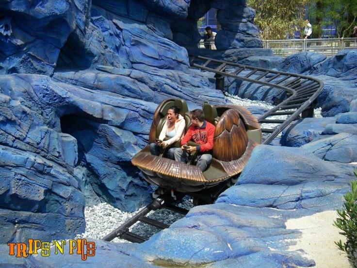 Crush's Coaster | Disneyland Paris - Walt Disney Studios Park | France