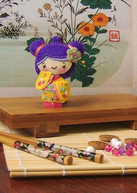 Geisha_felty_2 by Caruso's Factory, via Flickr