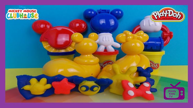 Play Doh Mickey Mouse Mouskatools. Mickey Mouse Clubhouse.