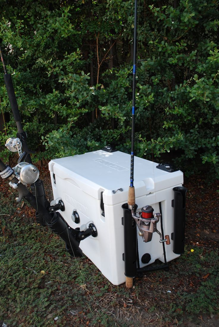 Rigging a Canyon Coolers Outfitter 125 with Railblaza USA StarPorts and Rod Holder II's! What do you think?