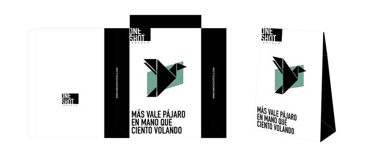 Welcome Pack for One Shot Hotels, Madrid. Illustration and design
