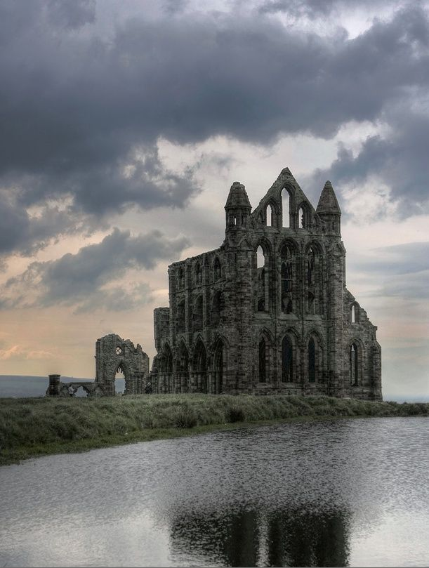 Whitby Abby Yorkshire, England.I want to go see this place one day. Please check out my website Thanks.  www.photopix.co.nz