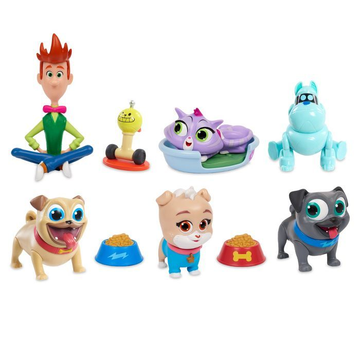 Puppy Dog Pals Deluxe Friend Set 10pc Dogs And Puppies Disney Junior Friends Set