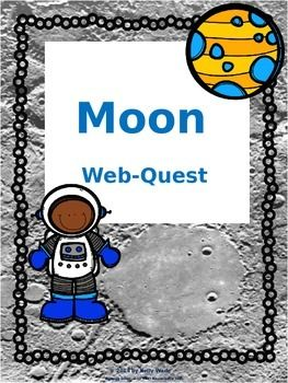 Free for the first 24 hours  Students use a kid friendly space site to research about the moon, which provides a fun way to research the moon and get the kids reading on a site meant for students.