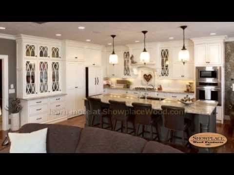This Spacious Kitchen Sets A Tone Of Classic Grace With Showplace Cabinetry.  The Elegant Savannah