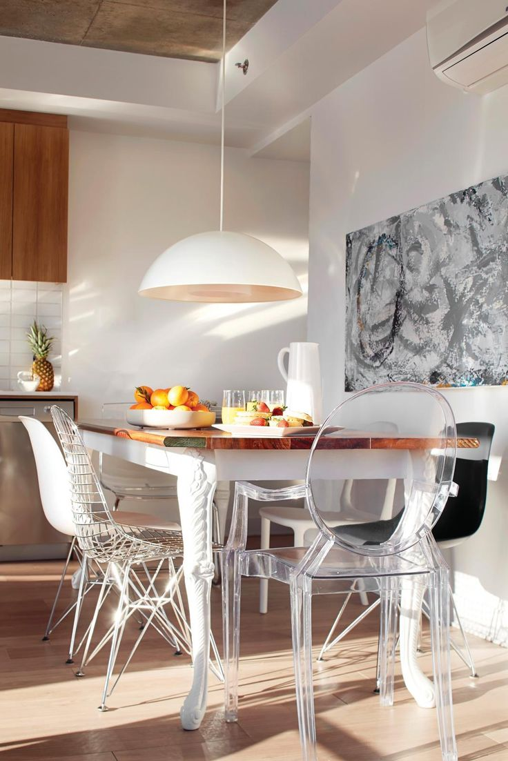 Cuisine Ikea Haut De Gamme :  Lefebvre #deco #antikit #design #condo #cuisine #bois #table #chaise
