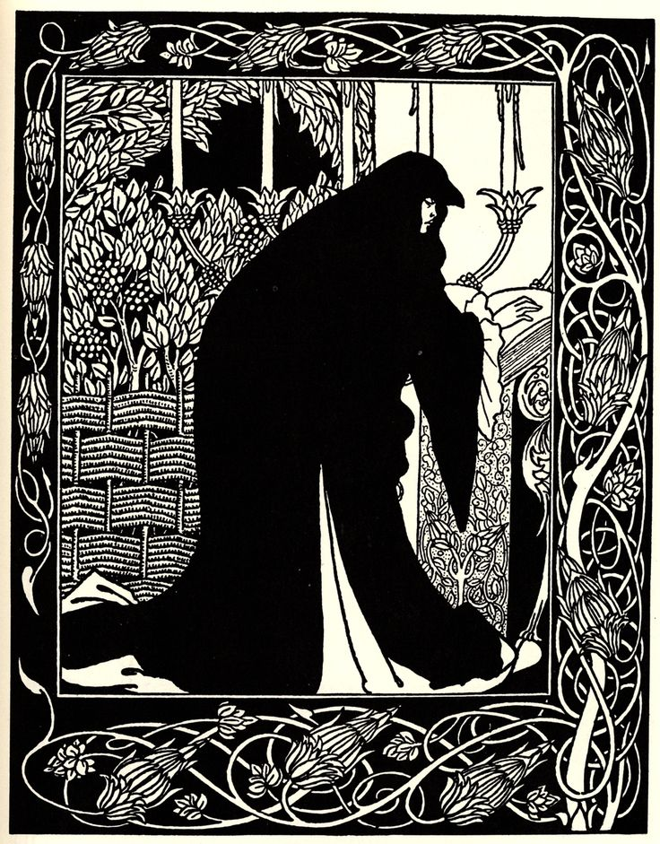 Beardsley 1872-1898, Aubrey, England How Queen Guenever made her a nun