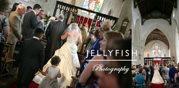 JELLYFISH PHOTOGRAPHY WEDDING ST MARY'S CHURCH SUNDON