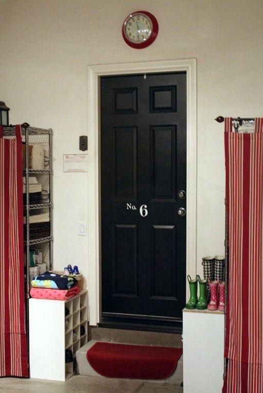 no mudroom spot? garage organization diy | Cute Decor