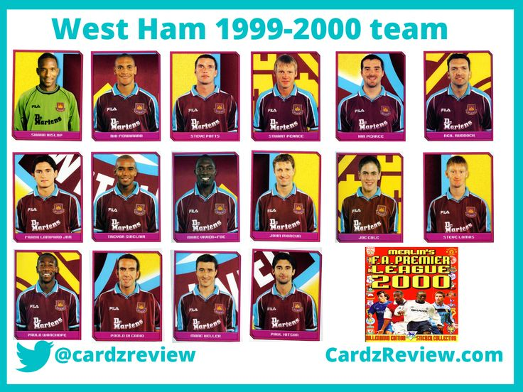 West Ham United 1999-2000.