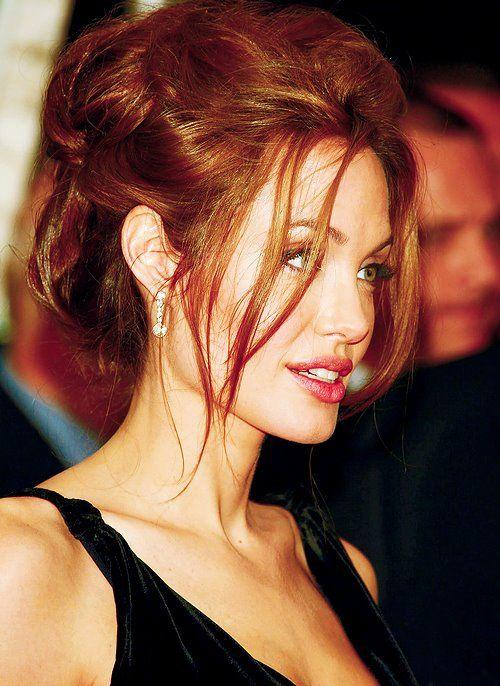 Sexy, Messy hair. Angelina