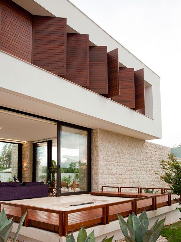 Casa de Valentina - Integrada à paisagem