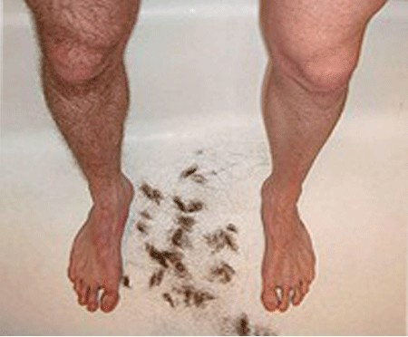 Don't Do this. Let us take care and help you get rid of those hair Permanently