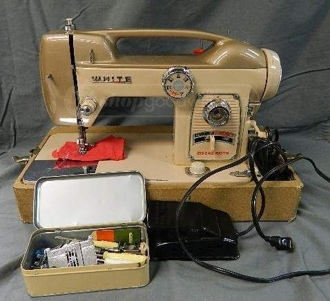 17 best images about vintage sewing machines on pinterest for Arts and crafts sewing machine
