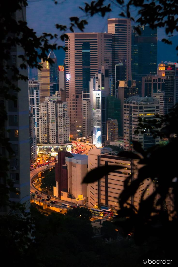 View of Causeway Bay, Hong Kong