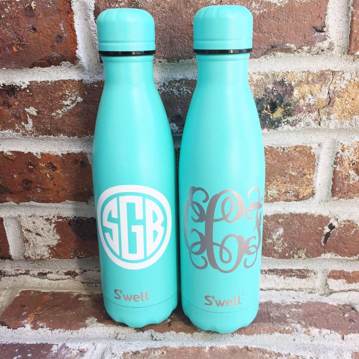 17 ounce su0027well water bottle monogrammed swell bottle gift initials by shopbpink on - Swell Waterbottle