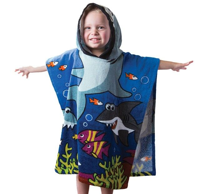 BAMBURY - Marky Shark Poncho Pal. #christmascountdown