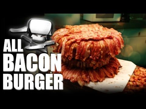 Epic Meal Time: All Bacon Burger - Neatorama