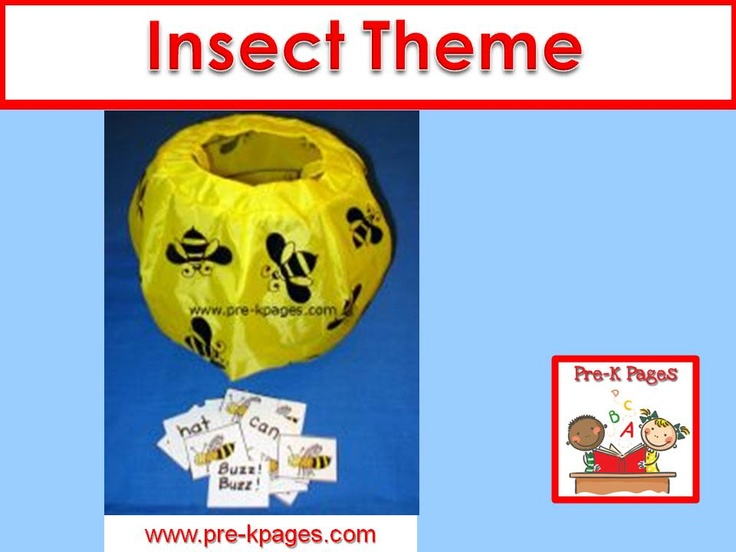 Ideas Activities And Printables For An Insect Theme In Your Preschool Pre