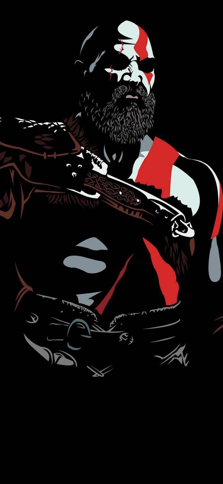 Pin By Kjf On God Of War Kratos God Of War God Of War War Art God of war hd wallpaper for mobile