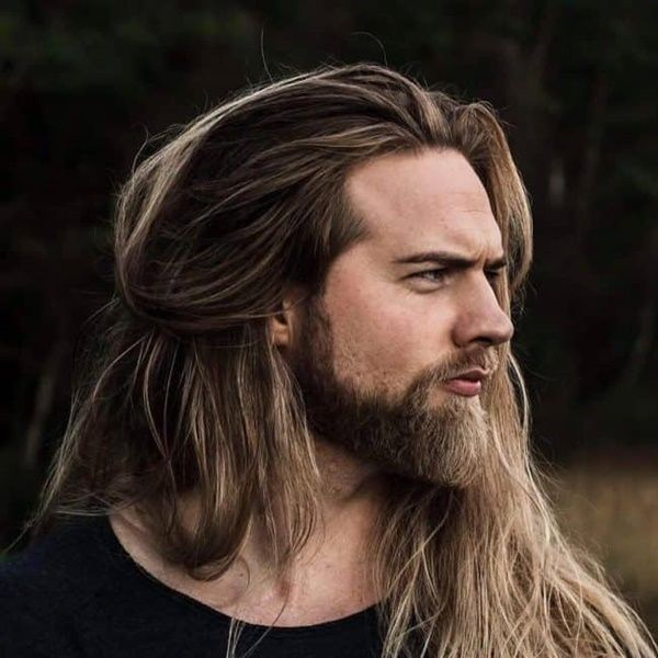 39 Amazing Beard Styles With Long Hair For Men Long Hair Beard Long Hair Styles Men Hair And Beard Styles