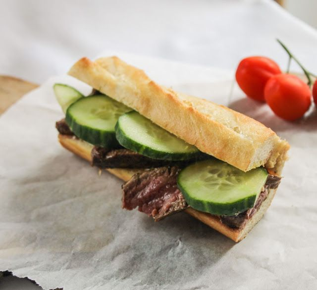eat like you love yourself: The Ultimate Steak Sandwich