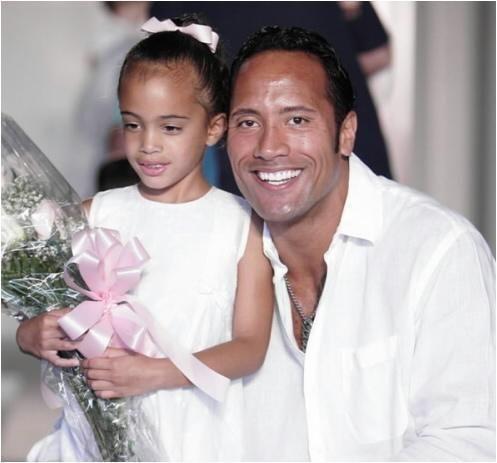 Dwayne's Daughter - Black Canadian and Samoan, Irish, Native American, Spanish, Filipino, Chinese