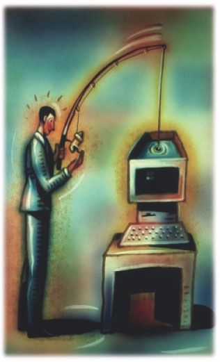 Source: http://www.forbes.com/sites/ericbasu/2013/10/07/spear-phishing-101-who-is-sending-you-those-scam-emails-and-why/  Mein letzte Beitrag eröffnet das Thema Internetsicherheit für Kleinunternehmer – was ungefähr und wann Sorgen machen? Dieser Beitrag wird auf Spear Phishing.   Verwandte Artikel:  http://www.slideshare.net/veraalceo/hass-associates-online-technology-articles-madrid-europolbricht-multimillioneneurointernetbetrugbande   http://www.youtube.com/watch?v=qXwbzeIciok