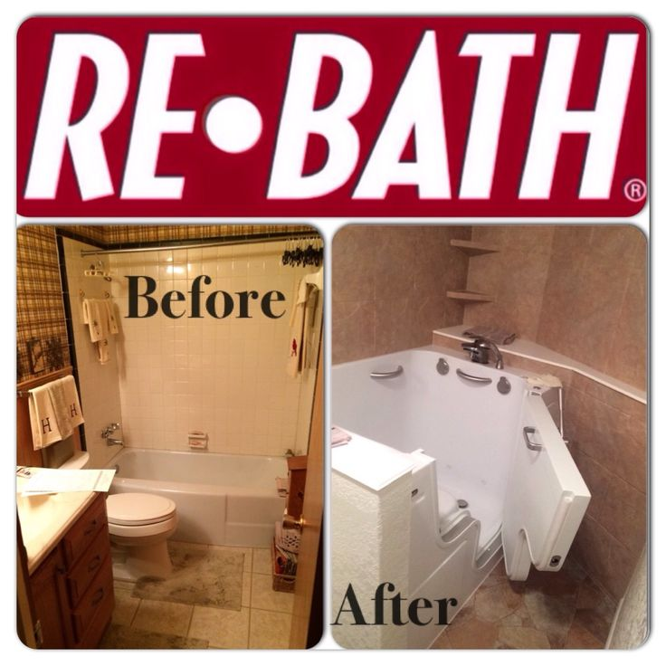 this is a full bathroom remodel with a rebath walkin tub outswing
