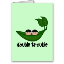 Twin Daughter Quotes | Twin Sayings Greeting Cards, Note Cards and Twin Sayings Greeting Card ...