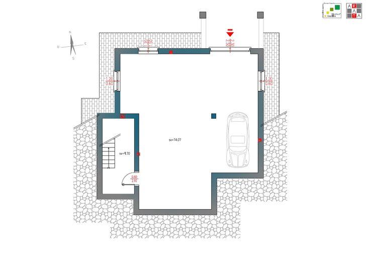 Villa Acanto - Piano seminterrato