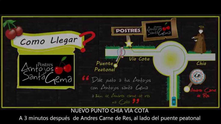 Videoclip realizado para la campaña de inauguración del nuevo punto de atencion del negocio POSTRES ANTOJOS SANTA GEMA. El JINGLE publicitario, fue compuesto por Ann Cantautora (d.r.a.).