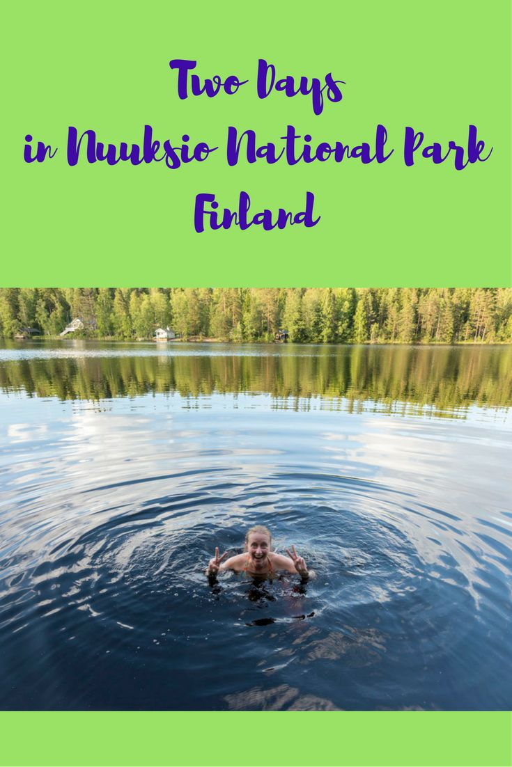 Things to do in Nuuksio national park, Finland, in summer. Two days in Nuuksio, between wild swimming, sleeping in a hanging tent and amazing views!
